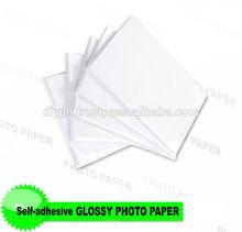 135gsm glossy self-adhensive photo paper