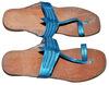 Indian Women Vintage Kolhapuri Leather Mojari Shoes Flat Slipper Pure Jutti From India