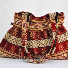 Kilim Design Red & Cream Colors bag for ladies