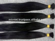 High Quality unprocessed No Short Hair 20-25 cm remy hair
