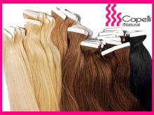 Top quality long black maylasian human hair rainbow feather hair extensions