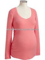long sleeves maternity sweatshirt,Maternity Wear High fashion Plain GI_4132