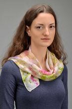 Light green silk shawl