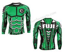 Fuji Rash Guards Green