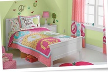 COTTON Baby/Children bedding sets Cartoon bed sheets/ Printed Bedding Sets , printed baby bed sheet designs fabric