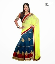 New Border Design Saree | Kundan Work Saree Designs | Saree Design Patterns