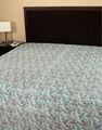 Coudre à la main le travail kantha drap de lit, draps de lit pas cher, indian gros couvre