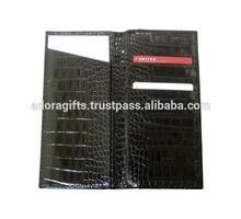 ADAPC - 0015 Top Grain Genuine Leather Travel Organizer Wallet Passport Holder by Adora Gifts