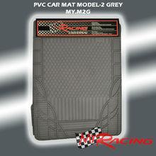 MY RACING PVC CAR MATS UNIVERSAL MODEL 2 GREY