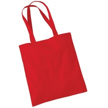 Pink cotton shopping bags
