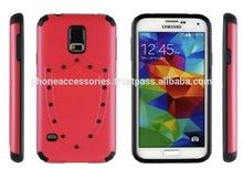 Shield Design hybrid case pc+silicone for iPhone 6, iPhone 5 and iPhone 4 and for Samsung S5 and Note 3