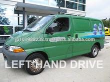 Vans usado- toyota hiace 2.4d entrega van( lhd 1078 diesel)