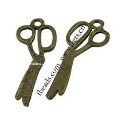 Gets.com zinc alloy leather cutting scissors