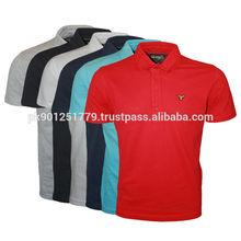 Top Fashion bulk plain t-shirts polo shirts for men , hot sale new design polo t shirt, round neck with button men polo shirt