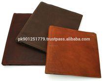 Promotional Custom leather document folder cover , A4 Leather Folder With Notepad,Custom Leather File Folder