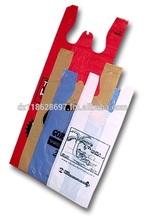 Plastic Shopping T shirt Bag