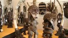 mano tallada de madera esculturas