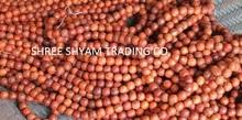 1.6cm red sandalwood beads mala