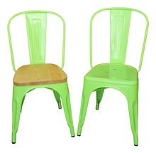 Industrial Metal Chairs, Multicolor Metal Dining Chairs