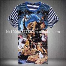 Digital printed t-shirts china factory