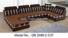 hot selling model fabric corner sofa set for home living furniture