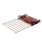 Easy Installation High Efficiency Floor Heating Self Regulating (PTC) Heating Rail(Ladder Shape Heating Cable)