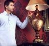 Wholesale Classic Custom Men's Double collar Shalwar Kameez Suits , Latest mens shalwar kameez