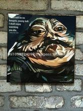 Pop Art -Jabba the Hutt - Starwars