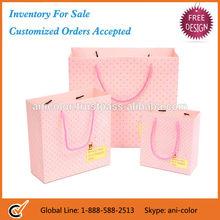 Dot Printing Paper Gift Bag