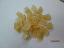 Dried Pineapple core fruit: slice, chunk, dice