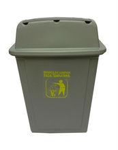 Dustbin 68L with swing lid