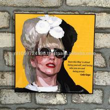 Pop Art - Lady Gaga - Born this way