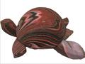 Exclusivo indiano casca de coco cinzeiro tartaruga acessórios de lã moda artigo do presente