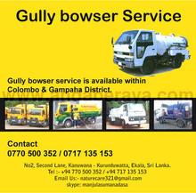 Gully Bowser Sevice 0770500352