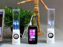 Wholesale Dancing water speakers active portable mini usb led light sp