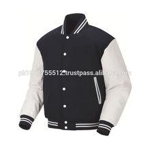 2014 winter fashion design women clothing plain printed woolen varsity women jacket
