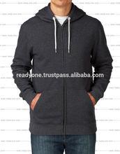 Custom hoodies cotton polyester, zip french terry hoodie, women hoodies wholesale