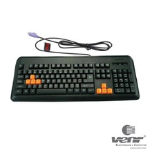 VENR Keyboard VK-388G- PS2 For Game
