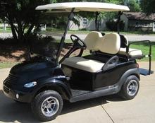 PT Cruiser Custom Club Car Golf Cart.