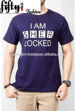 '' I am Sher Locked '' Printed Tshirt For Men