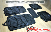MY RACING PVC CAR MATS 3D UNIVERSAL MODEL 6