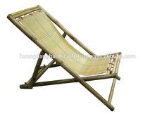 Sleeping chair beach chair relaxing chair made of pure bamboo