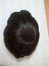 Grade 7A high quality unprocessed natural hair wig for men