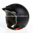 helmet Demi Jet three botton vespa scooter motorcycle ECE certification BLACK MATT