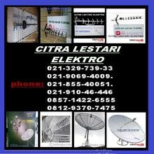 antena tv uhf dan parabola otomatis
