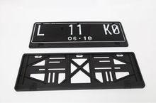New Plastic Car License Plate Frame