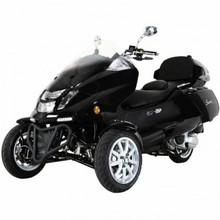 NEW: Roadrunner 300cc Trike Scooter -Trunk & Windshield & Built in Saddlebag!