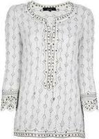 GI_7339 Ladies latest design modern girls tunic tops/western tunic design/beaded tunic tops