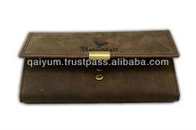 Golden Metal Fitting wallet
