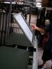 Silkscreen printing table